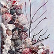 Shell Bouquet  No 6 Art Print