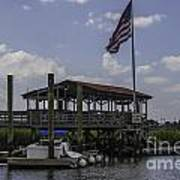 Shem Creek Bar And Grill Art Print