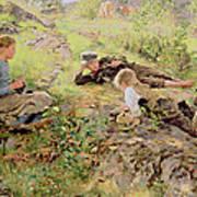 Shepherds Art Print