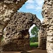 Sherborne Arches Art Print