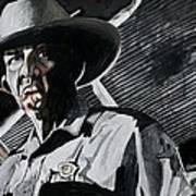 Sheriff Hoyt Art Print by Jeremy Moore