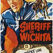 Sheriff Of Wichita, L-r Allan Rocky Art Print