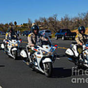 Sheriff's Motor Officers Art Print
