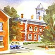 Sheriffs Residence With Courthouse Art Print