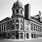 Shibe Park In Black And White Art Print