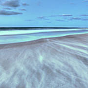 Shifting Sands On Frisco Beach Outer Banks I Art Print