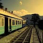 Shimla Railway Station Art Print