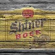 Shiner Bock Art Print