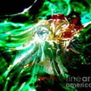 Shining Through The Glass II Art Print