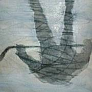Shinny Shilouette Wc Art Print
