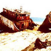 Ship Wrecked Art Print