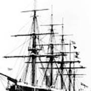 Ships Hms 'agincourt Art Print
