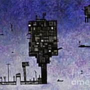 Ships In The Night IIi Art Print