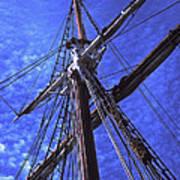 Ships Rigging - 2 Art Print