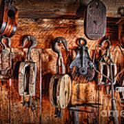 Ship's Rigging Print by Lee Dos Santos