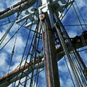 Ships Rigging Art Print