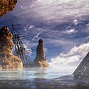 Shipwreck Art Print by Bob Orsillo
