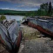 Shipwrecks At Neys Provincial Park No.3 Art Print