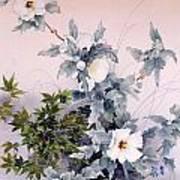 Shirasagi Art Print