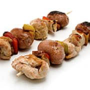Shish Kebab Art Print