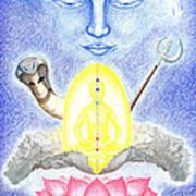 Shiva Print by Keiko Katsuta