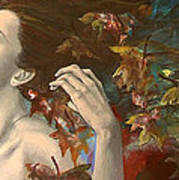 Shivers Art Print by Dorina  Costras