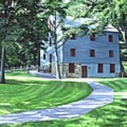 Shoaff's Mill Art Print