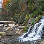 Shoal Creek Area Waterfalls Art Print