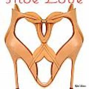 Shoe Love Art Print