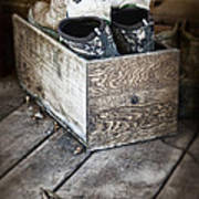 Shoebox Still Life Print by Tom Mc Nemar