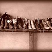Shoes Art Print by Fran Riley