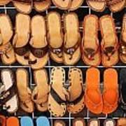 Shoes Shoes Everywhere Playa Del Carmen Mexico Art Print