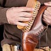 Shoeshiner Art Print