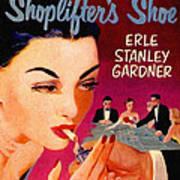Shoplifter's Shoe. Vintage Pulp Fiction Paperback Art Print