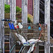 Shopping Cart Art Print