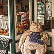 Shopping's A Bear Art Print