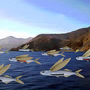 Shoreline Squadron Art Print