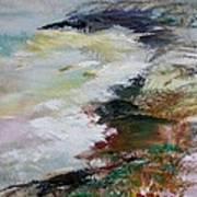 Shores Of Half Moon Bay Art Print