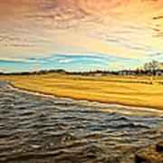 Shores Of Lake Michigan Art Print