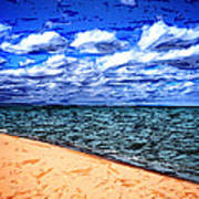 Shores Of Lake Superior Art Print