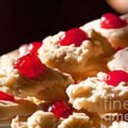Shortbread Cookies Art Print