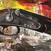 Shot Gun  Art Print