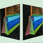 Shots Shifted - Hermite 6 Art Print