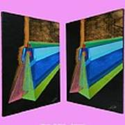 Shots Shifted - Hermite 7 Art Print