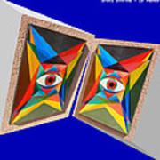 Shots Shifted - Le Monde 3 Art Print