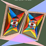 Shots Shifted - Le Monde 4 Art Print