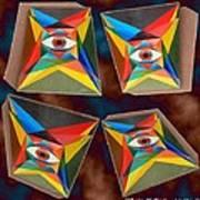 Shots Shifted - Le Monde 7 Art Print