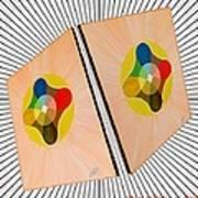 Shots Shifted - Le Soleil 4 Art Print