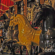 Showcase Of Royal Horses Art Print