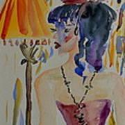 Showgirl Art Print